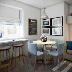 ЖК Отрада: Столовые комнаты в . Автор – Massimos / cтудия дизайна интерьера,