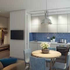 ЖК Отрада: Кухни в . Автор – Massimos / cтудия дизайна интерьера,