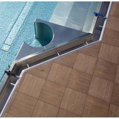 Plaza Yapı Malzemeleri – Havuz Kenarı:  tarz Havuz