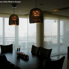 Sheer Delite Shades / Blinds in India:   by Louverline Blinds,