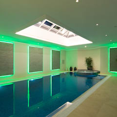Swimming pool: modern Pool by Flairlight Designs Ltd