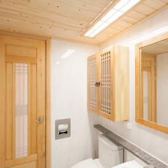 아파트를 한옥으로: 한옥공간의  욕실