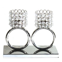 """Twin Crystal Ring Tea Light Holders: {:asian=>""""asian"""", :classic=>""""classic"""", :colonial=>""""colonial"""", :country=>""""country"""", :eclectic=>""""eclectic"""", :industrial=>""""industrial"""", :mediterranean=>""""mediterranean"""", :minimalist=>""""minimalist"""", :modern=>""""modern"""", :rustic=>""""rustic"""", :scandinavian=>""""scandinavian"""", :tropical=>""""tropical""""}  by M4design,"""