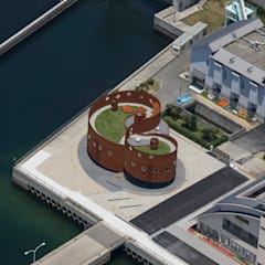 Museums توسط遠藤秀平建築研究所/Endo Shuhei Architect Institute