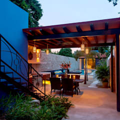 Casa GL53: Terrazas de estilo  por Taller Estilo Arquitectura