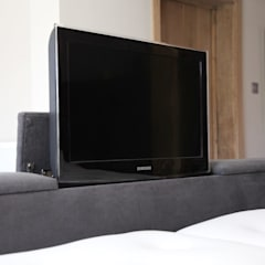 Grace Bed - TV option:  Bedroom by The Big Bed Company
