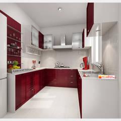 Neeras Kitchen :  Kitchen by Neeras Design Studio