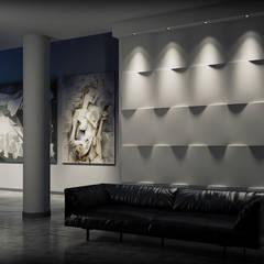 3D Wandgestaltung LOFT DESIGN SYSTEM:  Multimedia-Raum von Loft Design System Deutschland