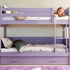 Habitaciones para niñas de estilo  por Sofás Camas Cruces