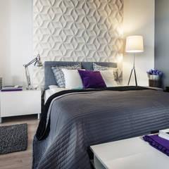 Dekorative 3d Wandpaneele LOFT DESIGN SYSTEM:  Schlafzimmer von Loft Design System Deutschland - Wandpaneele aus Bayern,Modern