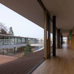Higashimurayama Musashino Nursery: Muramatsu Architectsが手掛けた学校です。