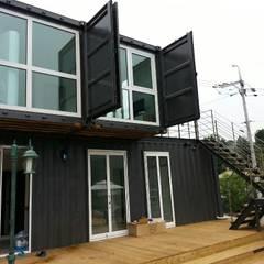 Windows by 큐브디자인 건축사사무소