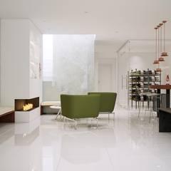 โดย Gramil Interiorismo II - Decoradores y diseñadores de interiores มินิมัล