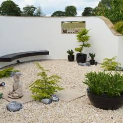 Japanese Style Garden: asian Garden by Unique Landscapes