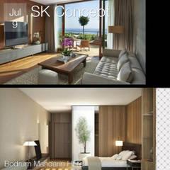 SK Concept Duvar Kağıtları ve Kumaş  – SK Concept - Tekstil tabanlı vinil duvar kağıtları : akdeniz tarzı tarz Yatak Odası