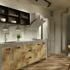 Kitchen by homify, Industrial