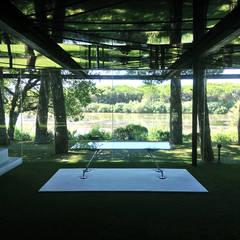 Maison de verre: Bureau de style de style eclectique par Clémence Polge - design d'espace x rédaction web