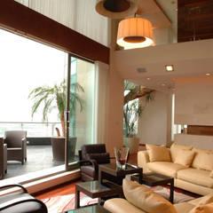 Wohnzimmer von ARCO Arquitectura Contemporánea ,