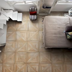 Plaza Yapı Malzemeleri – Marküteri (Rustik):  tarz Yatak Odası, Rustik