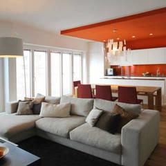 Maisonettewohnung: Wohnzimmer Von Eswerderaum