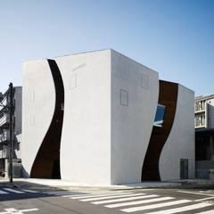 مكاتب ومحلات تنفيذ タカトタマガミデザイン/TAKATOTAMAGAMI ARCHITECTURAL DESIGN