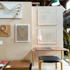 Wood reliefs and drawings by Alvar Aalto:  Messe Design von NORD3