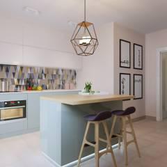 آشپزخانه by Anna Clark Interiors