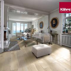 Wohnzimmer mit Kährs Parkett:  Wohnzimmer von Kährs Parkett Deutschland