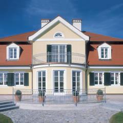 Außenaufnahme:  Landhaus von Bau-Fritz GmbH & Co. KG