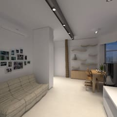 LT's RESIDENCE:  Living room by arctitudesign