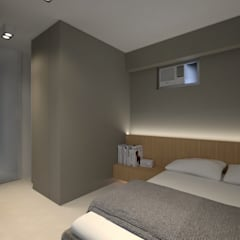LT's RESIDENCE:  Bedroom by arctitudesign