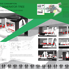 Collaborative consumption - The idea generator tree:  Office buildings by DariaTagliabue