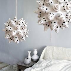 Handgemaakte Unieke Lichtsculpturen:   door The Paper Moon Factory, Rustiek & Brocante