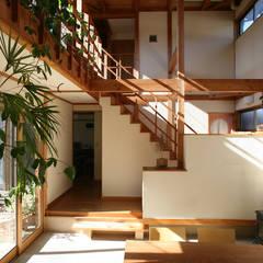 Media room by 八島建築設計室
