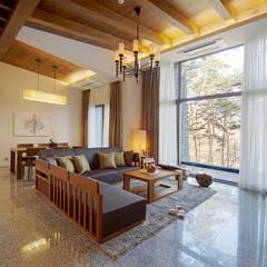 제천 리솜 포레스트: 나우동인건축사사무소의  레스토랑