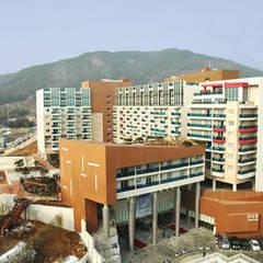 덕산 스파캐슬 II: 나우동인건축사사무소의  행사장,모던