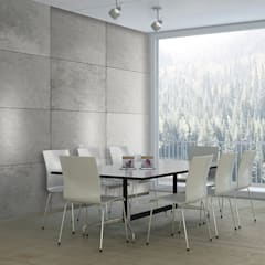 Beton Optik Modell CONCRETE: Moderne Esszimmer Von Loft Design System  Deutschland