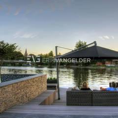 Tijdloze wellnesstuin Alblasserdam:  Tuin door ERIK VAN GELDER   Devoted to Garden Design