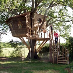 สวน by Squirrel Design Tree Houses Limited