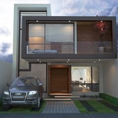 CASAS HABITACION Casas modernas de Xome Arquitectos Moderno