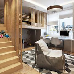 Phòng trẻ em by Дарья Баранович Дизайн Интерьера
