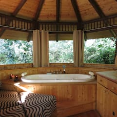 Bathroom by Tree Top Builder
