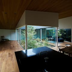 東村山の家: 石井秀樹建築設計事務所が手掛けた庭です。,モダン