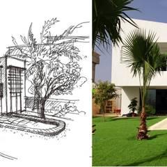 Maison Bioclimatique de l'idée à la réalité:  de style  par Ecotech-Architecture