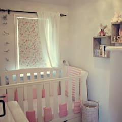A Country Cottage:  Nursery/kid's room by My Bespoke Room Ltd