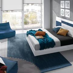 Dormitorios y Armarios: Dormitorios de estilo  de Baixmoduls, Moderno