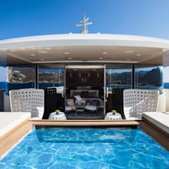 Yates y jets de estilo  por CRN SPA - YACHT YOUR WAY-  , Mediterráneo