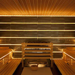 Sauna by corso sauna manufaktur gmbh, Scandinavian Wood Wood effect