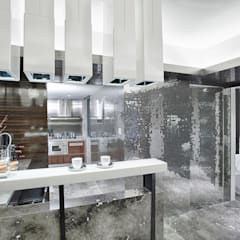 Literati Mansion | Guangzhou, China (ShowFlat): modern Kitchen by Another Design International