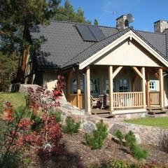 Dom Zelwa: styl , w kategorii Domy zaprojektowany przez Pracownia Tutaj